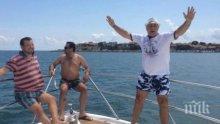 Христо Стоичков отплава на пътешествие с круизен кораб