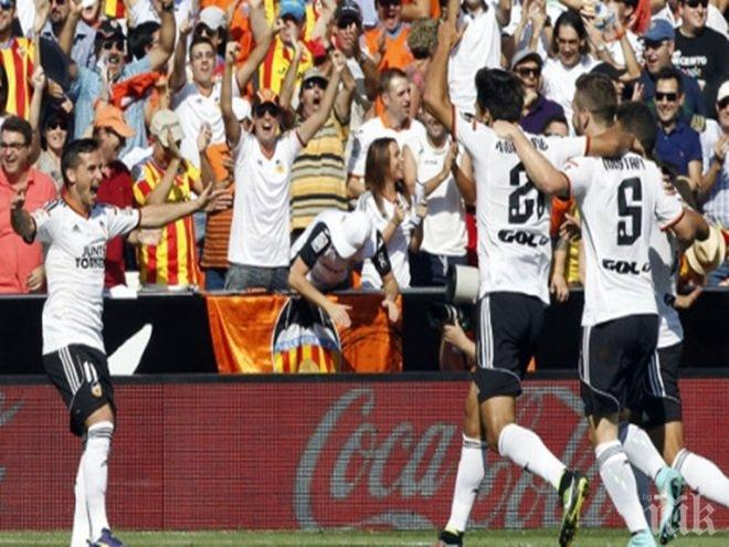 Валенсия победи Селта с 3:2 в мач от първенството на Испания
