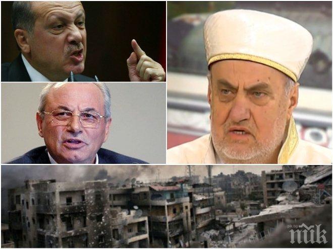 СТРАШНА ПРОГНОЗА! Бившият главен мюфтия след разговор с Ахмед Доган: Започва война! Идват тежки дни за България и Европа