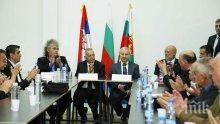 Премиерът Герджиков в Босилеград: Ще се застъпя за решаването на проблемите на българите в Западните покрайнини (СНИМКИ)