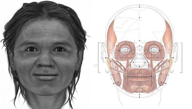 Ето как са изглеждали жените преди 13 000 години (СНИМКА)