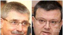 ИЗВЪНРЕДНО В ПИК! Почерпен, монополистът Сашо Дончев кепази Цацаров на маса - покри се в миша дупка след скандала (ВИДЕО)