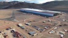 """Опасни химикали се разляха във фабрика на """"Тесла"""""""