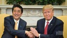 Премиерът на Япония е поискал помощ от САЩ за спасяването на похитените японски граждани в Северна Корея при извънредна ситуация
