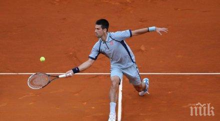Испанец измъчи Ноле Джокович на осминафиналите в Монте Карло