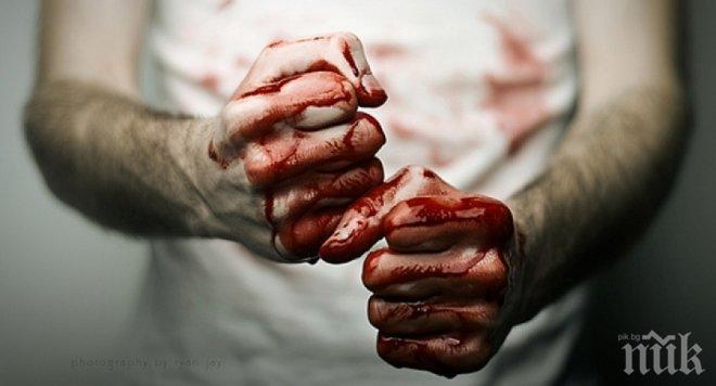 Жестоко меле в Хаджидимово! Кръвта на Георги беляза Шалевия магазин, карат го в болница с разбит череп