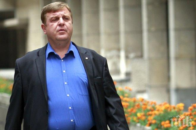 ГОРЕЩА ТЕМА! Каракачанов с тежки думи за коалицията с ГЕРБ! Патриотите държат на два основни принципа - преговорите за правителство започват