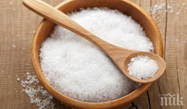 СЕНЗАЦИОННО ОТКРИТИЕ! Солта намалява жаждата
