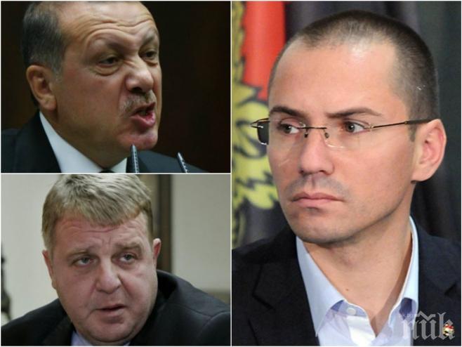 ЕКСКЛУЗИВНО В ПИК TV! Ангел Джамбазки избухна пред медията ни за Ердоган и султанатът в Турция! Ще стане ли Каракачанов военен министър?!