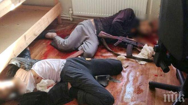 УДАР! Ликвидираха терористи, подготвяли кървав атентат в Русия (ВИДЕО)