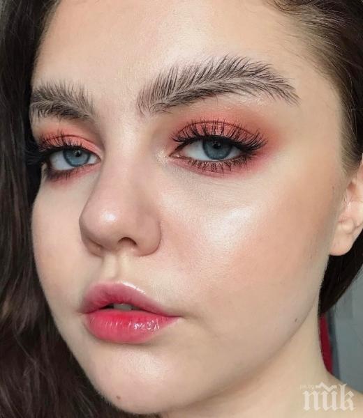 Новата мода във веждите шокира (СНИМКИ)