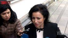 Бившата министърка на земеделието Десислава Танева чака момиченца от кмета на Котел
