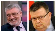 СКАНДАЛЪТ СЕ РАЗРАСТВА: Сашо Дончев  поиска извинение от Цацаров и защити Георги Гергов: Той иска да е приятел с всички