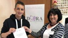 ДОБРО ДЕЛО! 14-годишен дари косата си на онкоболни жени