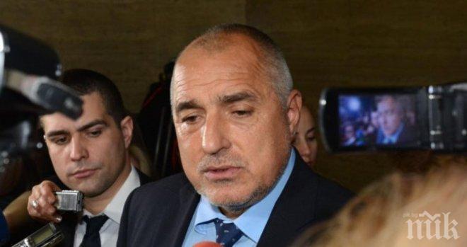 ПЪРВО В ПИК! Борисов с нова изненада - ето кой го поздрави за победата на изборите (СНИМКА)