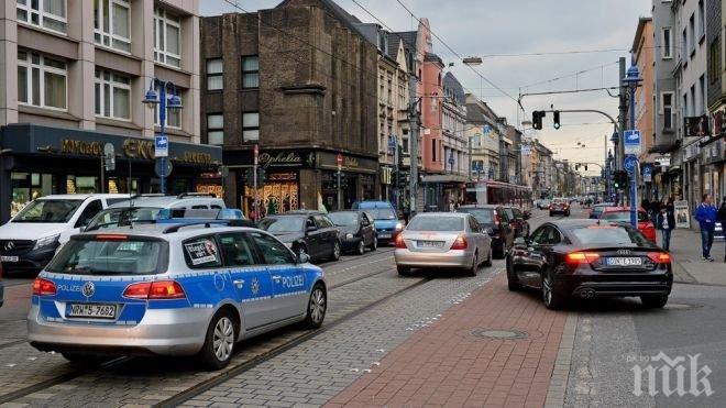 Въоръжен мъж нападна банков клон Германия и откри стрелба