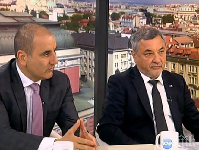 ИЗВЪНРЕДНО В ПИК TV! Валери Симеонов: Разменихме черновите на коалиционното споразумение - кабинет още не се реди (ОБНОВЕНА)