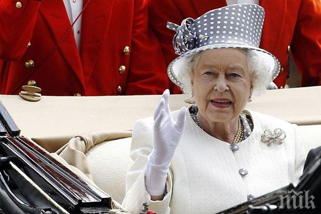 ИСТОРИЧЕСКО ВИДЕО! Вижте как Лондон чества рождения ден на кралица Елизабет II