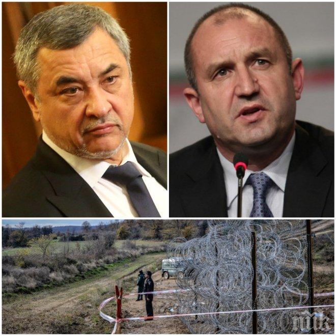 САМО В ПИК! Валери Симеонов скочи остро на Радев за оградата на границата: Президентът е подведен!