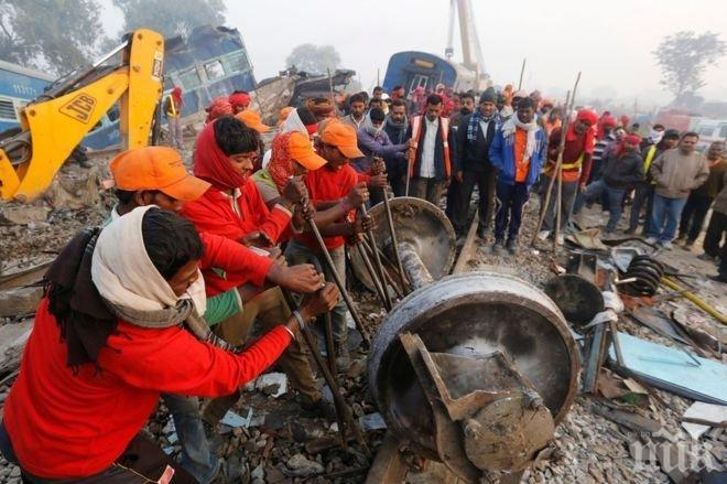 Камион се вряза в група фермери, 14 души загинаха
