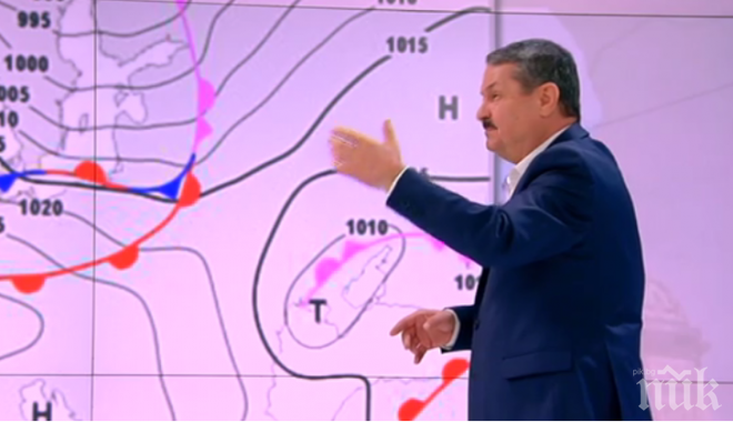 Климатологът Георги Рачев с нова прогноза за Гергьовден! Нормални ли са снеговете и мразовете навън и ще вали ли на празника