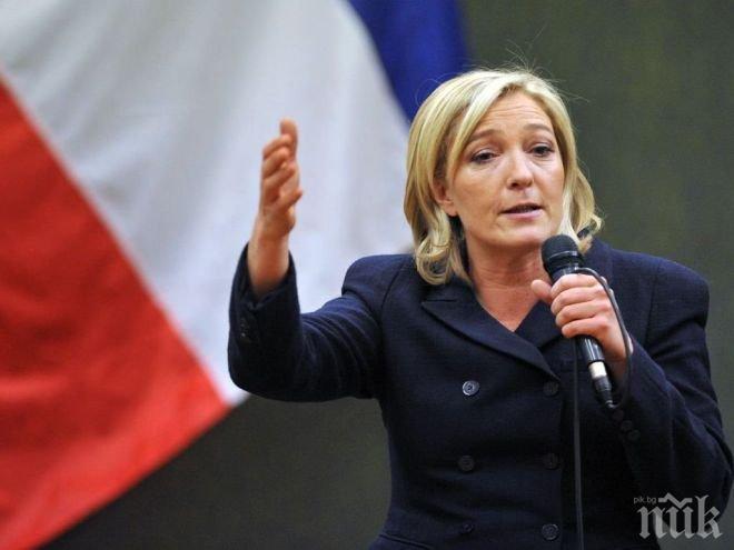 Марин льо Пен предупреди, че може да има още терористични атаки във Франция преди изборите