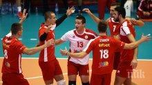 Волейболният ЦСКА на полуфинал за Купата