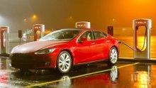 """""""Тесла"""" прави зарядна станция за електроавтомобили в България"""
