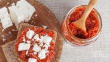 Безобразие! Ядем лютеница без домати и месо от соя