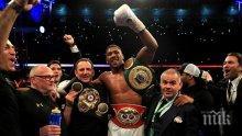 """ИЗВЪНРЕДНО! Антъни Джошуа е новият боксов крал! Британецът преби Кличко в епичен мач на """"Уембли"""" (СНИМКИ)"""