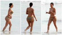 Рапърът Кание Уест бие шута на Ким Кардашиян след излагацията със снимките с целулит?