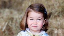 Кейт Мидълтън снима принцеса Шарлот за втория й рожден ден