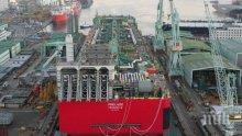 """Шестима работници на """"Самсунг"""" загинаха при инцидент на корабостроителница"""