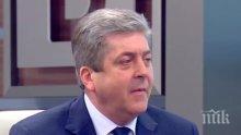 ИЗВЪНРЕДНО! За Георги Първанов кабинетът е очакван, хвали здравния министър проф. Николай Петров