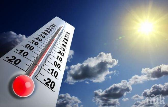ЛЯТОТО НАСТЪПВА С ПЪЛНА ПАРА! Температурите ще ударят 28 градуса