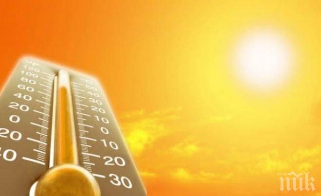 НЕВИЖДАНИ ЖЕГИ ИДВАТ ПРЕЗ МАЙ! Живакът удря 34 градуса в средата на месеца