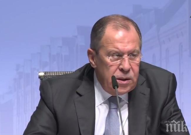 Лавров: Срещата между САЩ и Русия не се нуждае от сензации