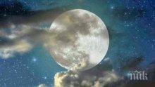 Тази нощ започва пълнолуние - освобождаваме се от негативни влияния и започваме на чисто!