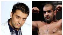 Багата нахлу с боксьори на участие на Борис Дали
