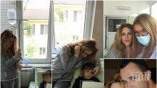 ГОЛЯМА ДРАМА! Ваня Червенкова изригна срещу бившия съпруг на Рени! Борис Пилософ заряза сина си в инфекциозна болница (СНИМКИ)