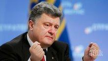 Петро Порошенко сравни присъединяването на Крим към Русия с агресията на Третия райх