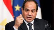 Президентът на Египет призова за политически диалог за спиране на кризата в Либия
