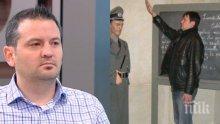 """БОМБА В ЕФИР! Сваленият зам.-министър проговори за """"нацисткия поздрав""""! Ето коментарът на Павел Тенев за снимката"""