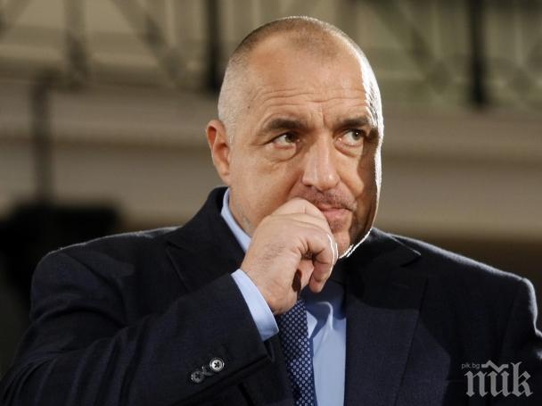 ГОРЕЩА НОВИНА! Борисов разкри опасен инцидент с неговия кортеж! Мотористи без номера изпреварили премиера с бясна скорост