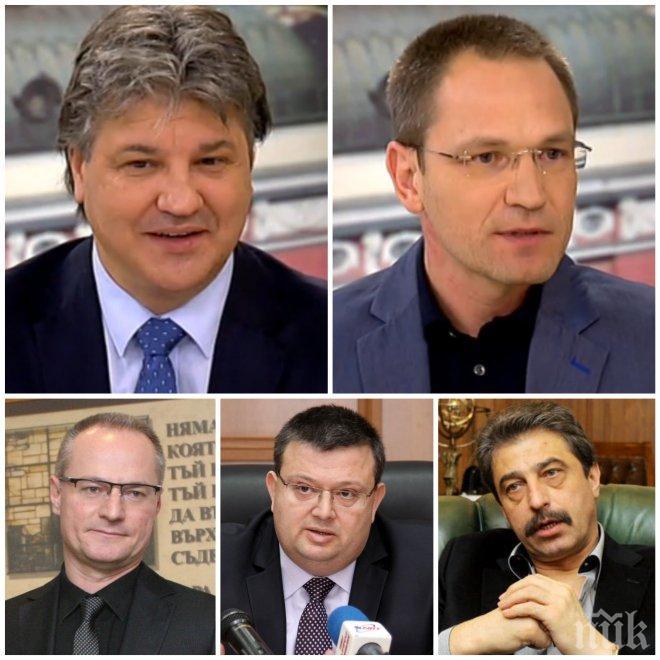СЪДЕБНИ ШПАГИ В ЕФИРА! Димитър Узунов срази мераците на Лозан Панов и компания да дискредитират главния прокурор