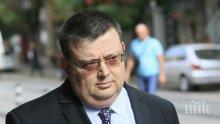 ЕКСКЛУЗИВНО! Цацаров с ключово изказване в Брюксел - новините за България са добри