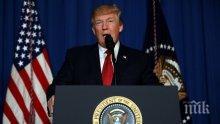 Тръмп призова всички страни да работят срещу Иран