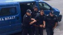 БРУТАЛНО! Граждански патрули налитат на бияча Живко пред съда! Адвокатът му: Ритнал е жената, защото го гледала лошо! (ВИДЕО)