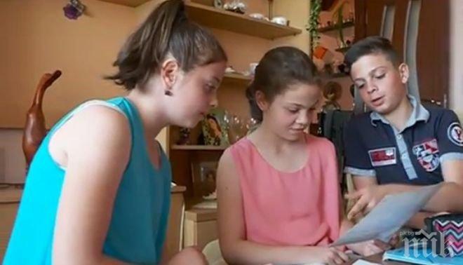 ЗОВ ЗА ПОМОЩ! Сърцата баба се грижи за три внучета сирачета