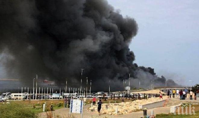 134 човека са убити при атака срещу авиобаза на Либийската национална армия край Триполи